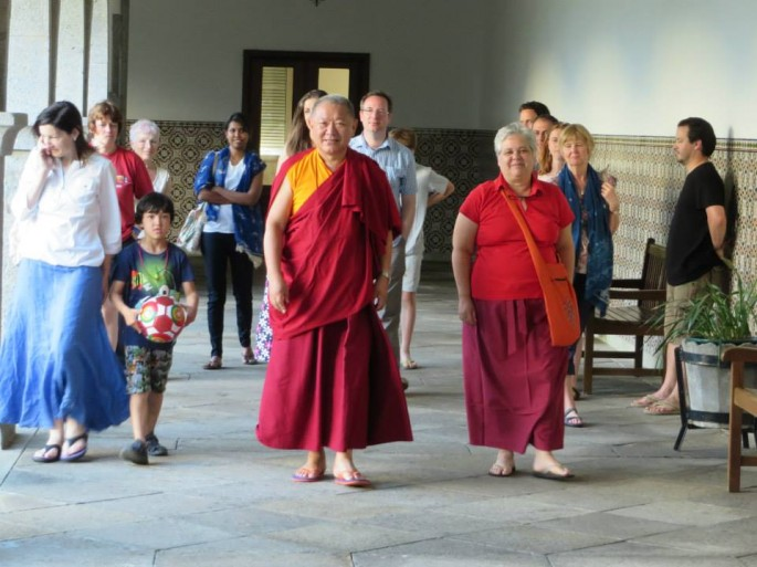 Bodhicharya summercamp at Casa da Torre
