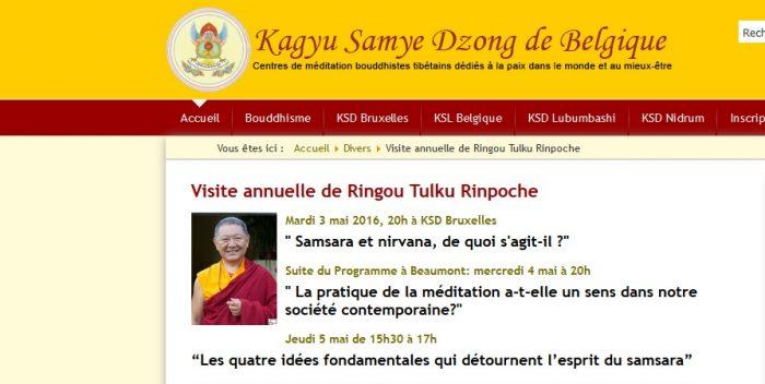 KSD de Belgique Visite de RTR
