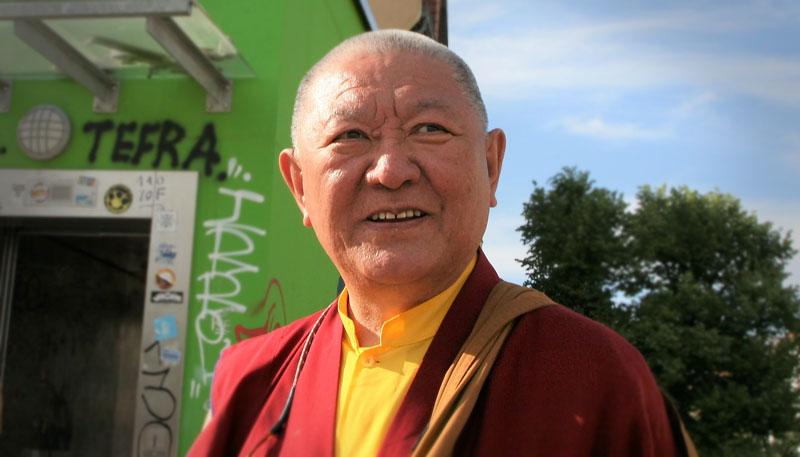 Ringu Tulku Rinpoche in Berlin 2018